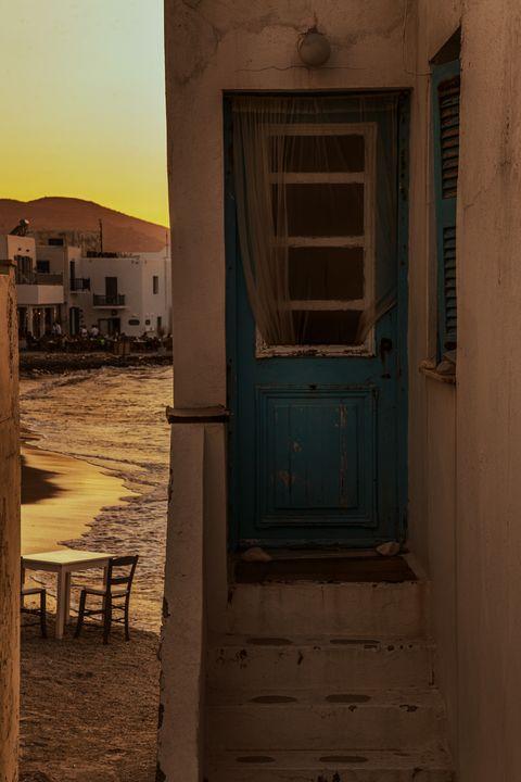 The door to beach - Sotiriadis Giannis