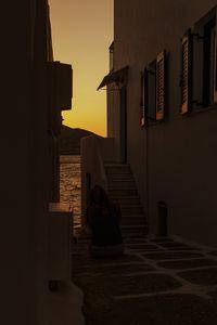Alley in Naousa Paros - Sotiriadis Giannis