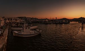 Paros port - Sotiriadis Giannis