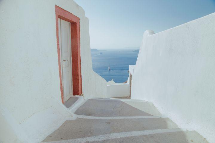 View in Santorini - Sotiriadis Giannis