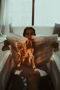 Flaming News - Sotiriadis Giannis