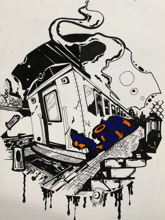 Graffiti Art - Br1sk1ne