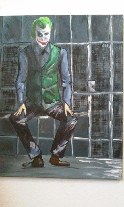 the joker from Batman - Ortiz Fine Art