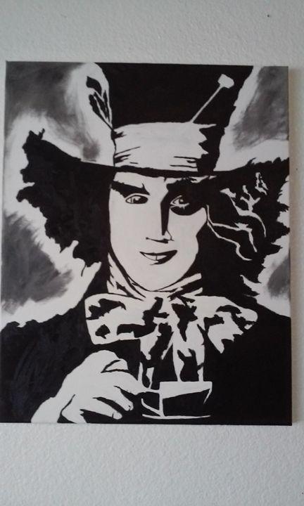 mad hatter - Ortiz Fine Art