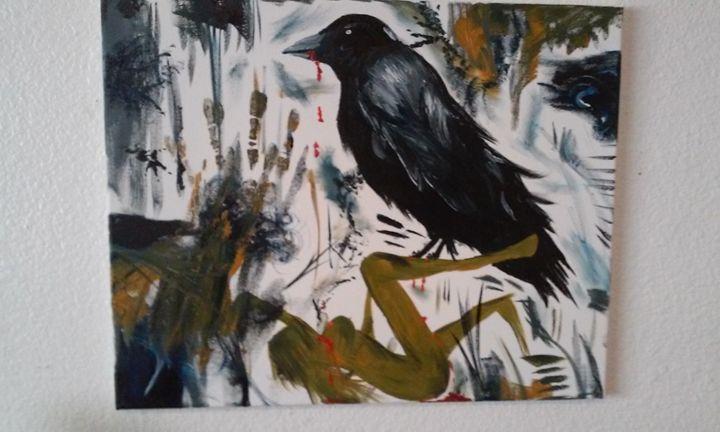 evil crow - Ortiz Fine Art