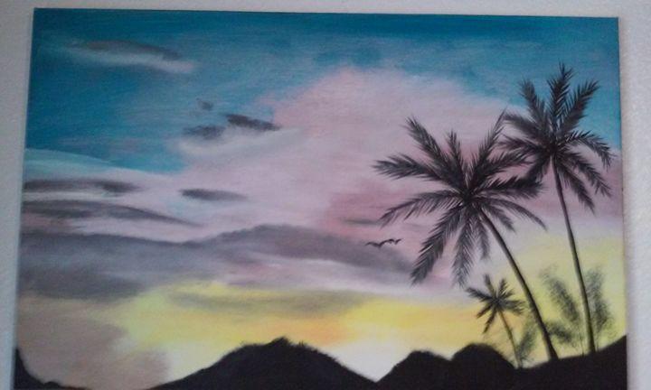 sun set - Ortiz Fine Art