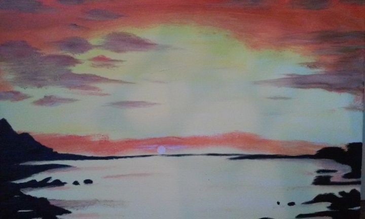 beach sunset - Ortiz Fine Art