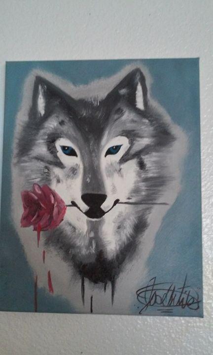rose wolf - Ortiz Fine Art