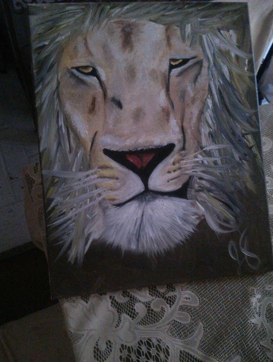 Lion leo - Ortiz Fine Art