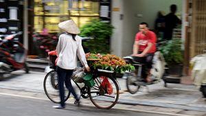 Street vendor in Hanoi