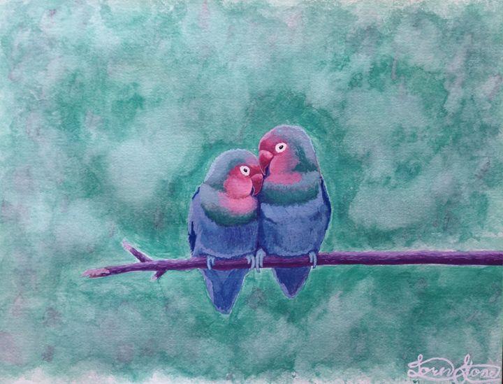 Love Birds - Vatu's Paintins