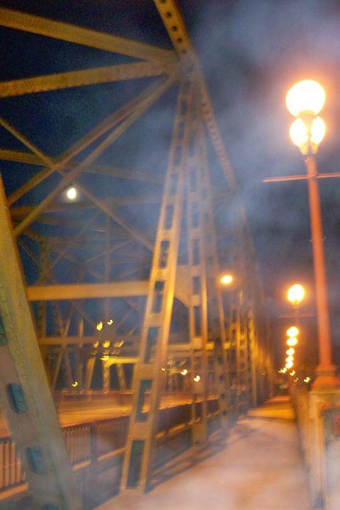 Bridge Fog - Mercurial Day