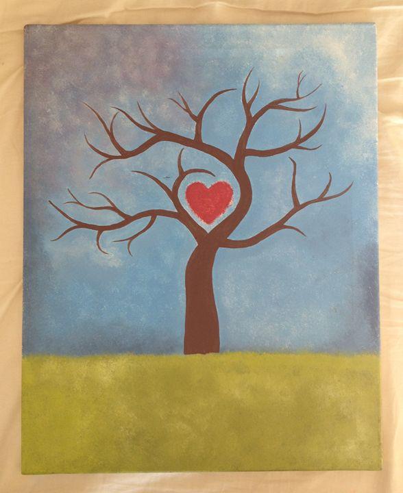 Love Tree - Alien Spirit Art