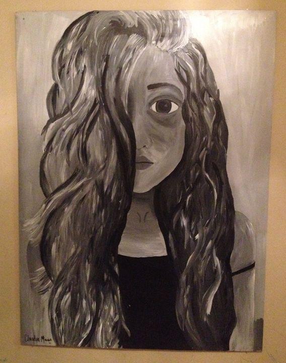 Anastasia - Alien Spirit Art
