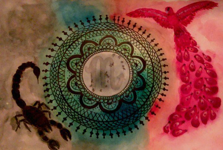 Scorpio - Jen Hallbrown Art
