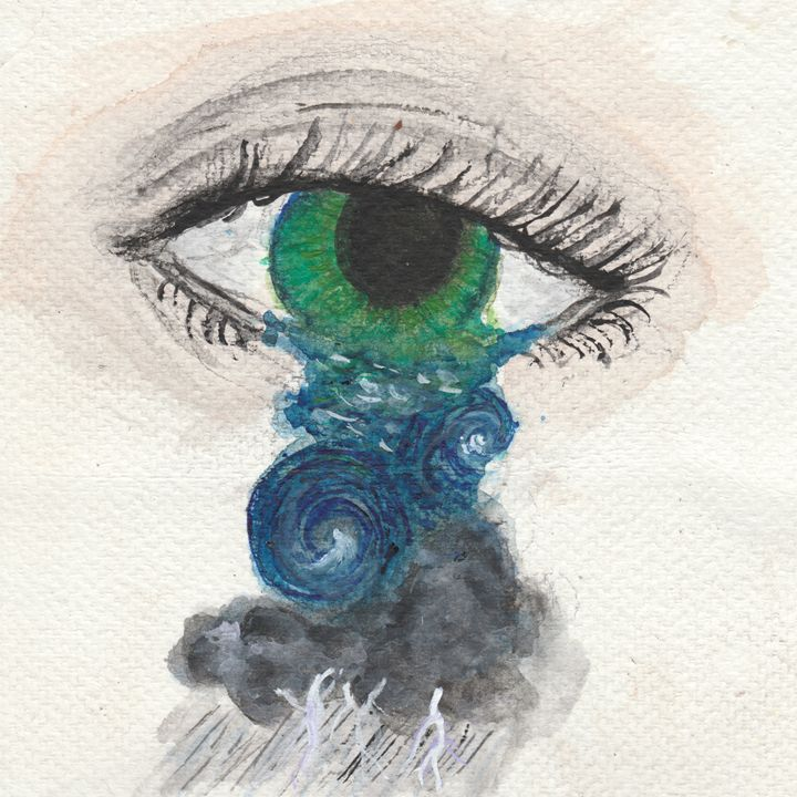 Eye of the Storm - Jen Hallbrown Art