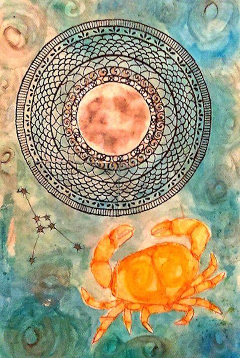 Cancer - Jen Hallbrown Art