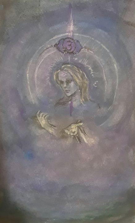 Ajna - Jen Hallbrown Art