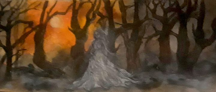 All Hallow's Eve - Jen Hallbrown Art
