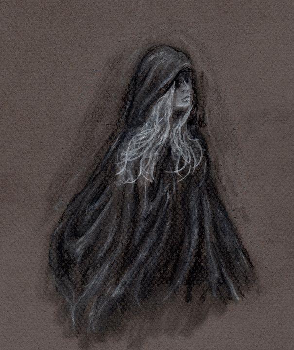 Melinoe - Jen Hallbrown Art