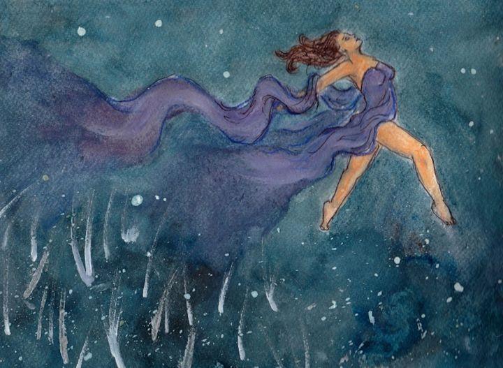 Asteria - Jen Hallbrown Art