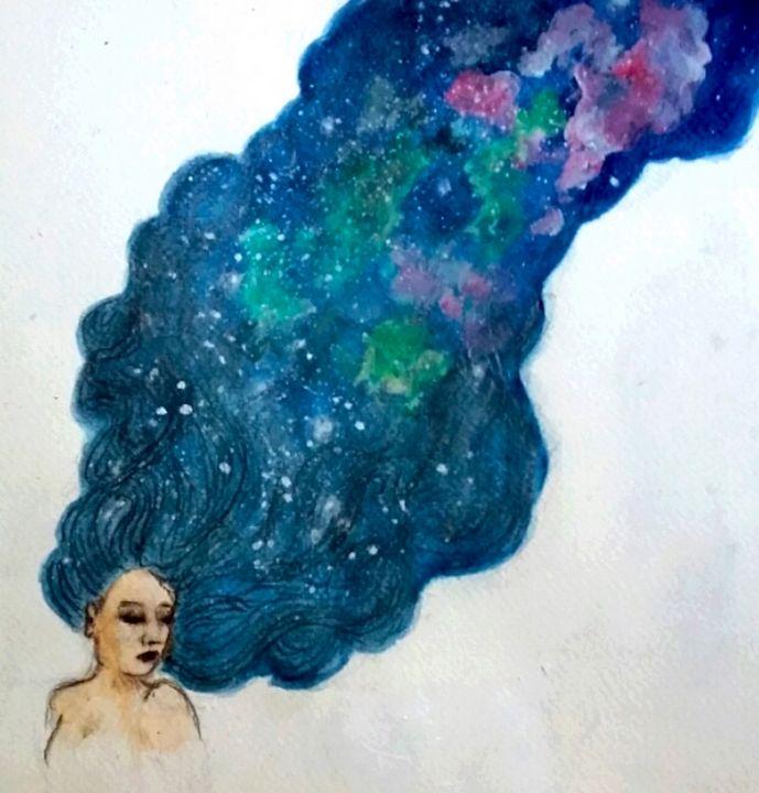 Nyx - Jen Hallbrown Art