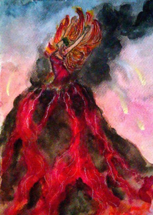 Pele - Jen Hallbrown Art