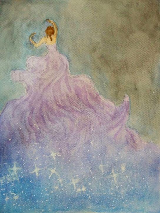 Midnight Dancer - Jen Hallbrown Art