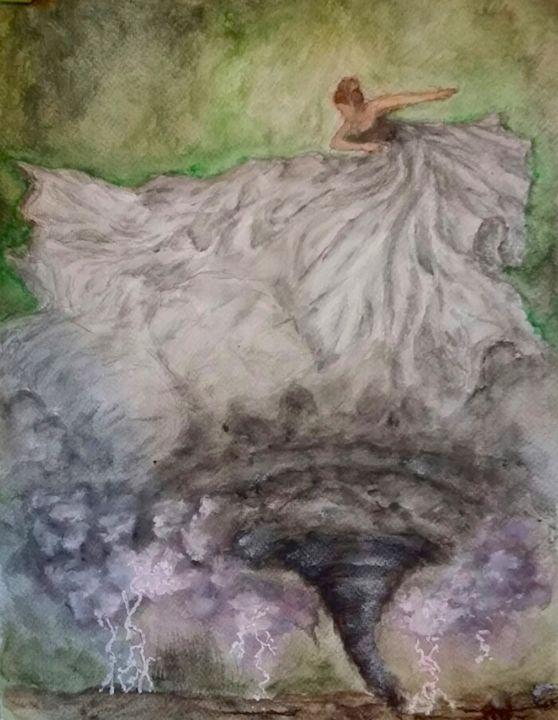 Storm Dancer - Jen Hallbrown Art