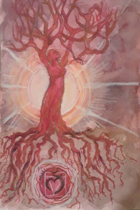 Muladhara - Jen Hallbrown Art