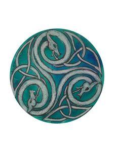Dragon Triskele - Jen Hallbrown Art