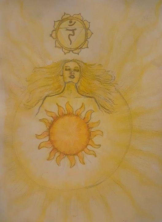 Manipura - Jen Hallbrown Art
