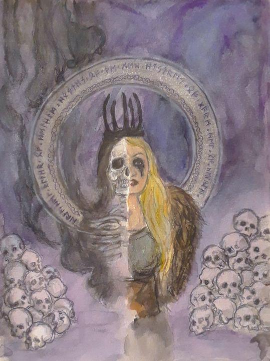 Hel - Jen Hallbrown Art