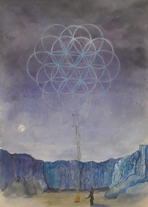 Sacred Dance - Jen Hallbrown Art