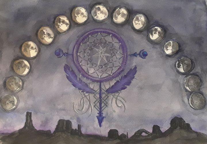 Dream Chasing - Jen Hallbrown Art