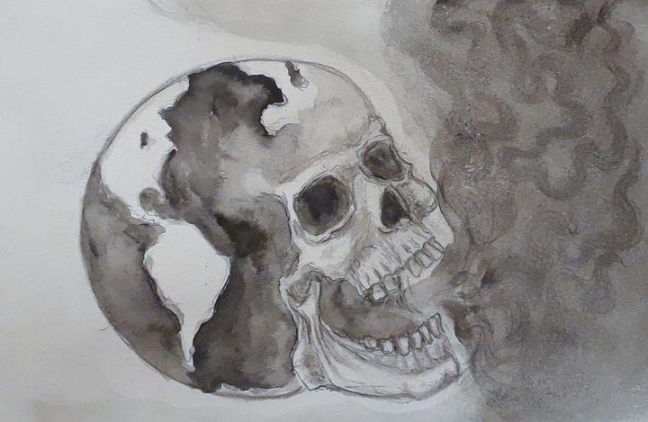 Scorched Earth - Jen Hallbrown Art