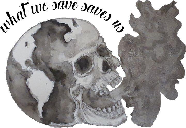 Scorched Earth 2 - Jen Hallbrown Art