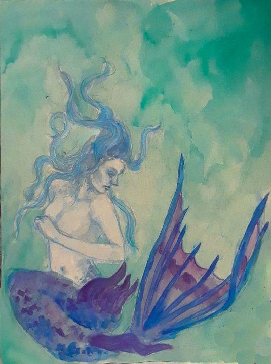 Mermaid #2 - Jen Hallbrown Art