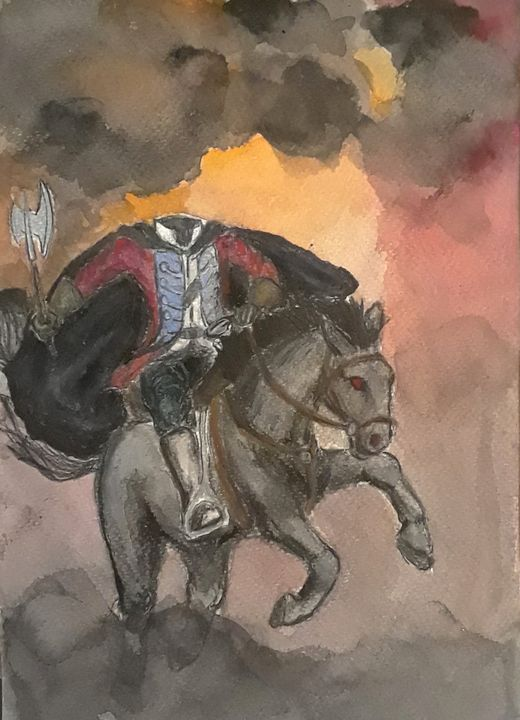 Headless Horseman - Jen Hallbrown Art