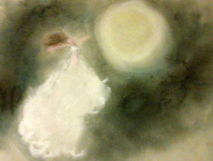Moonlight Dancer - Jen Hallbrown Art