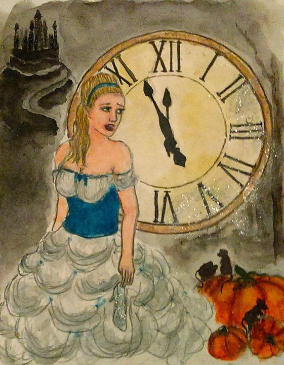Almost Midnight - Jen Hallbrown Art