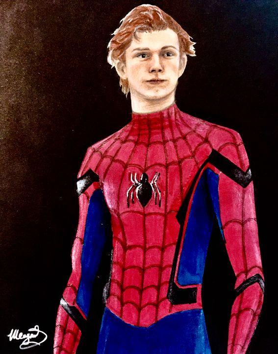 Spiderman - Meagan Calhoun