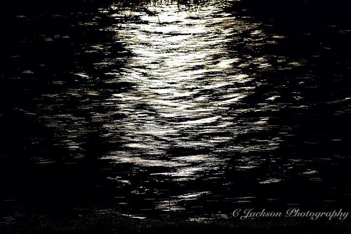 Night at the creek - C Jackson Photography