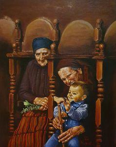 Grandmother & grandson
