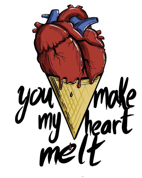 You make my heart melt - Annie Chrystine
