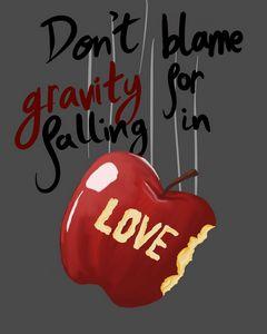 Don't blame gravity