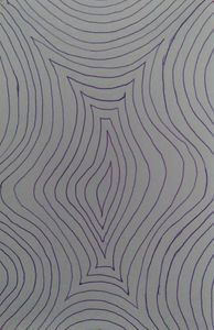 abstract drawing - Hallie's art