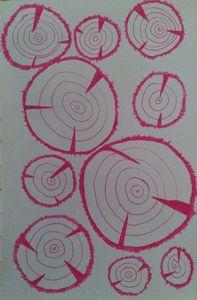 tree stumps - Hallie's art