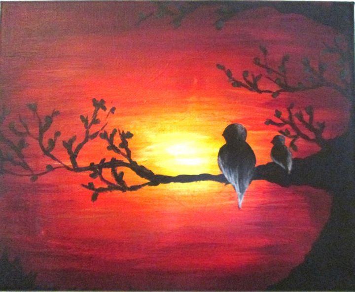 Caring Sunset - Art as Worship
