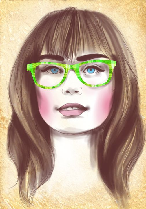 Hipster portrait no.2 - Midday Gallery